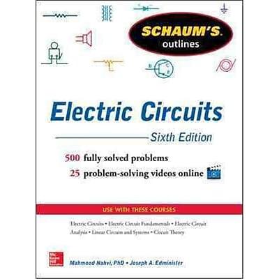 Schaum's Outline of Electric Circuits Joseph Edminister, Mahmood Nahvi Paperback