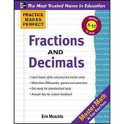 Fractions, Decimals, and Percents Erin Muschla Paperback