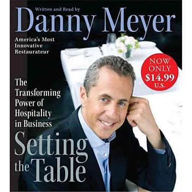 Setting the Table Danny Meyer Audiobook CD
