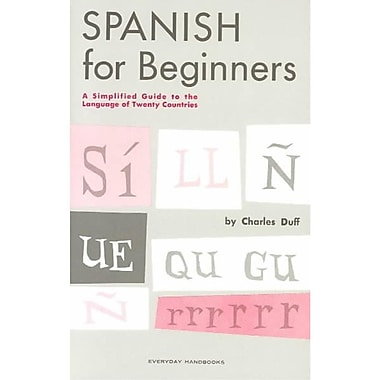 Spanish for Beginners Charles Duff Paperback