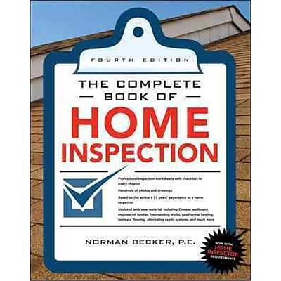 Complete Book of Home Inspection Norman Becker Paperback