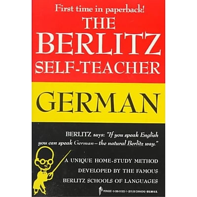 Berlitz Self-Teacher: German Berlitz Editors Paperback