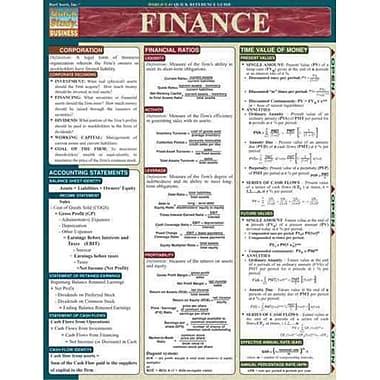 Finance Inc. BarCharts Pamphlet