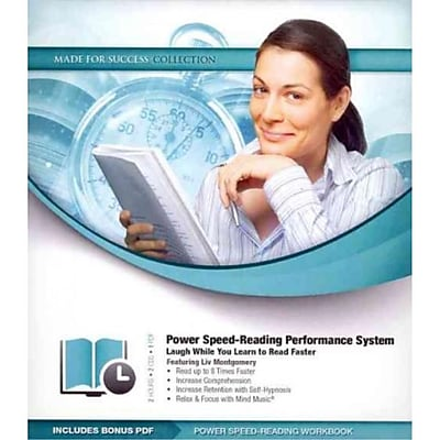 Power Speed-Reading Performance System: Laugh While You Learn to Read Faster Liv Montgomery CD