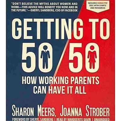 Getting to 50/50 Sharon Meers, Joanna Strober CD