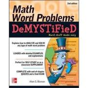 Math Word Problems Demystified Allan Bluman Paperback
