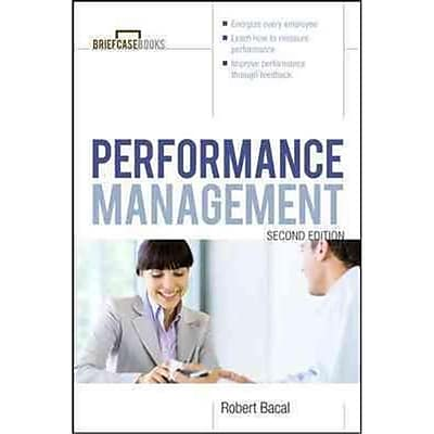 Manager's Guide to Performance Management Robert Bacal Paperback