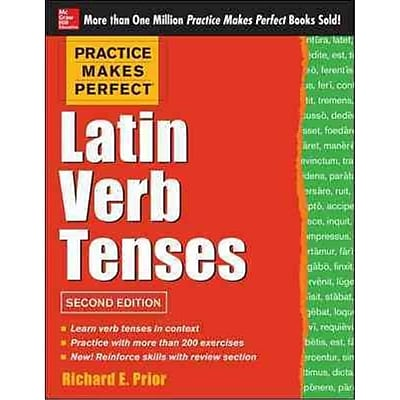 Latin Verb Tenses Richard Prior Paperback
