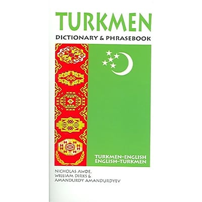 Turkmen Dictionary & Phrasebook: Turkmen-English/English-Turkmen Paperback