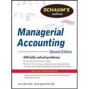 Schaum's Outlines Managerial Accounting Jae Shim, Joel Siegel Paperback