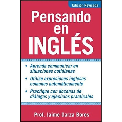 Pensando En Ingles/Thinking in English Jaime Garza Bores Paperback