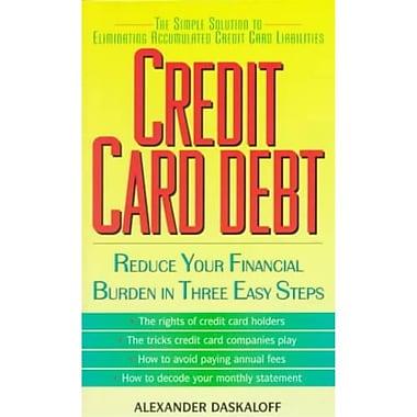 Credit Card Debt Alexander Daskaloff Paperback