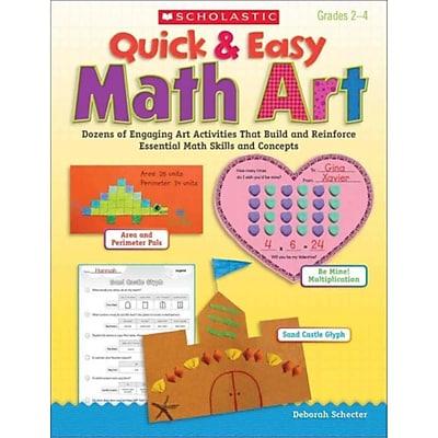 Quick & Easy Math Art Deborah Schecter Paperback