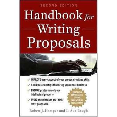 Handbook For Writing Proposals Robert J. Hamper , L. Baugh Paperback