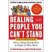 Dealing With People You Can't Stand Rick Brinkman, Rick Kirschner Paperback