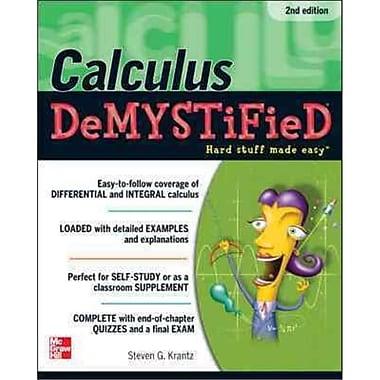 Calculus Demystified Steven Krantz Paperback