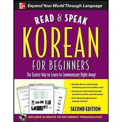 Read and Speak Korean for Beginners Sunjeong Shin Paperback