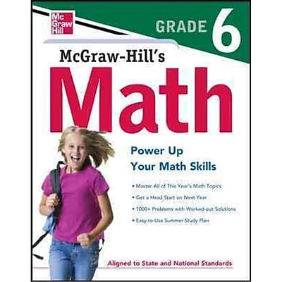 Mcgraw-Hill's Math Grade 6 McGraw-Hill Editors Paperback