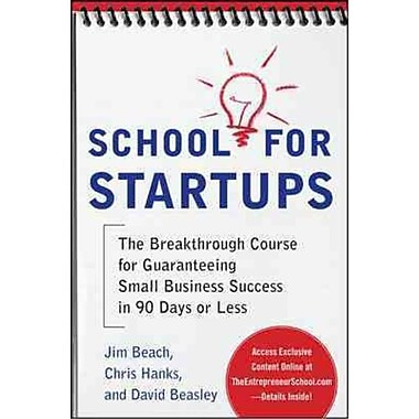 School for Startups Jim Beach , Chris Hanks , David Beasley Paperback