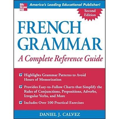 French Grammar Daniel Calvez Paperback