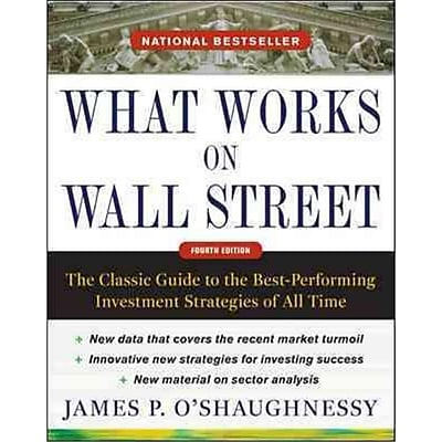 What Works On Wall Street James O'Shaughnessy Hardcover
