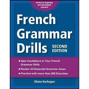 French Grammar Drills Eliane Kurbegov Paperback