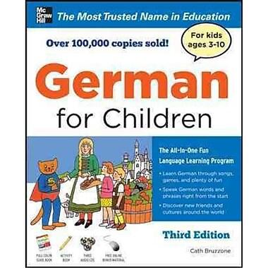 German for Children Catherine Bruzzone Paperback