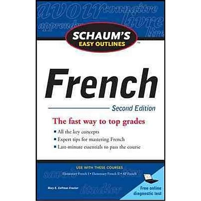 Schaum's Easy Outlines French Mary Crocker Paperback