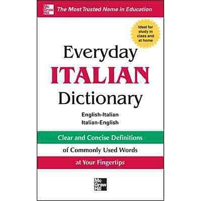 Everyday Italian Dictionary Collins Paperback