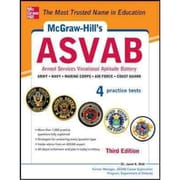 McGraw-Hill's ASVAB: Strategies + 4 Practice Tests Dr. Janet Wall Paperback