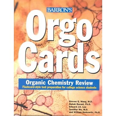Orgocards: Organic Chemistry Review Cards
