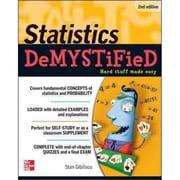 Statistics Demystified Stan Gibilisco Paperback