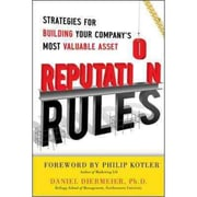 Reputation Rules Daniel Diermeier Hardcover