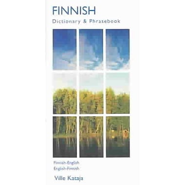 Finnish Dictionary & Phrasebook: Finnish-English/English-Finnish