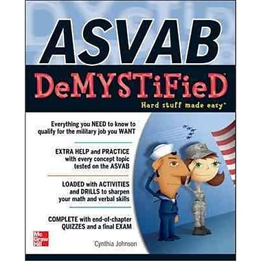 ASVAB Demystified Cynthia Johnson Paperback