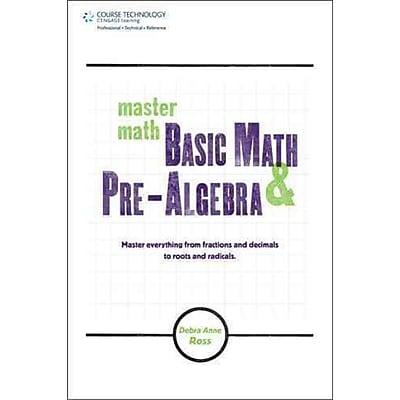 Master Math Debra Anne Ross Basic Math and Pre-Algebra
