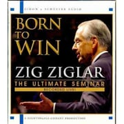 Born to Win Zig Ziglar  Audiobook CD