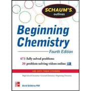 Schaum's Outline of Beginning Chemistry David Goldberg Paperback