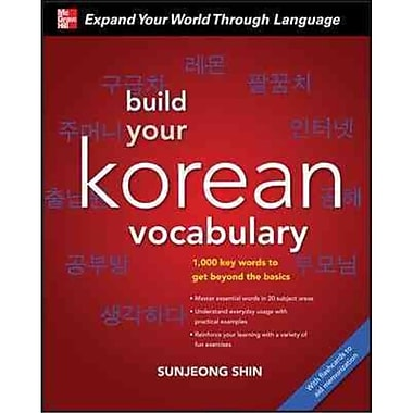 Build Your Korean Vocabulary Sunjeong Shin Paperback