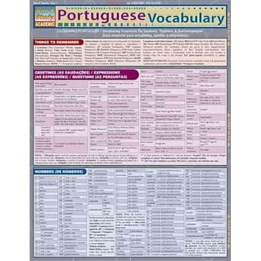 Portuguese Vocabulary (Quick Study Academic)