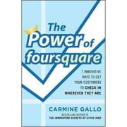 The Power of Foursquare Carmine Gallo Hardcover
