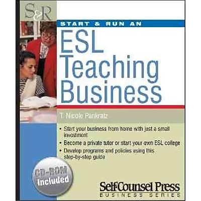 Start & Run an Esl Teaching Business Nicole Pankratz Paperback