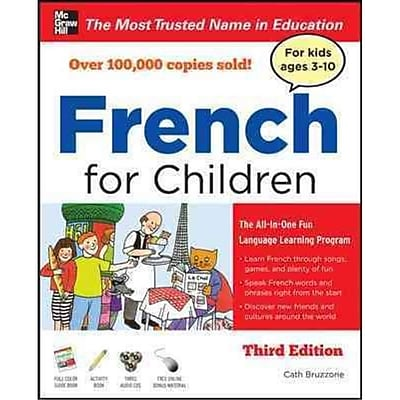 French for Children Catherine Bruzzone Paperback with Three Audio CDs