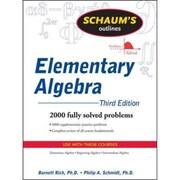 Schaum's Outline of Elementary Algebra Barnett Rich, Philip Schmidt Paperback