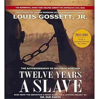 Twelve Years a Slave Solomon Northup CD