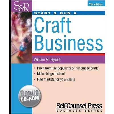 Start and Run a Craft Business William G. Hynes Paperback
