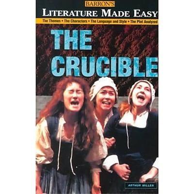 The Crucible (Literature Made Easy) Lona MacGregor , Tony Buzan Paperback