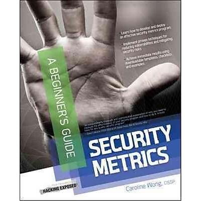 Security Metrics Caroline Wong Paperback