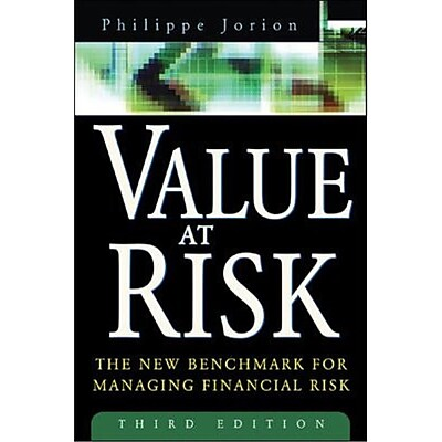 Value at Risk Philippe Jorion Hardcover