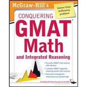 McGraw-Hill's Conquering the GMAT Math and Integrated Reasoning Robert Moyer Paperback